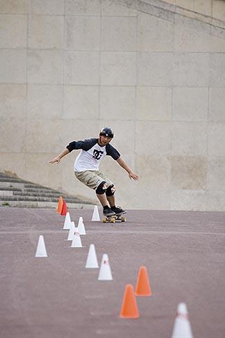 image 6-450-5931 Recreation, Skateboarder