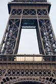 eiffel tower detail stock photography | France, Paris, Eiffel Tower , image id 6-450-5956