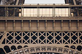 steel stock photography | France, Paris, Eiffel Tower  detail, image id 6-450-5959