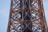steel beam stock photography | France, Paris, Eiffel Tower detail, image id 6-450-5973