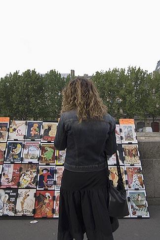 image 6-450-6131 France, Paris, Souvenir postscards, Left Bank