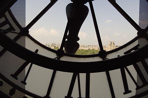 image 6-450-6322 France, Paris, Musee dOrsay, Clock