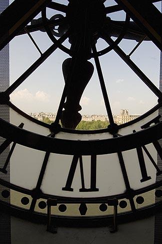 image 6-450-6324 France, Paris, Musee dOrsay, Clock