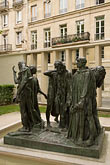the burghers of calais stock photography | France, Paris, Rodin Museum, The Burghers of Calais, image id 6-450-6664
