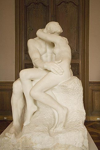 image 6-450-6691 France, Paris, Rodin Museum, The Kiss
