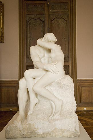 image 6-450-6696 France, Paris, Rodin Museum, The Kiss