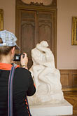 vertical stock photography | France, Paris, Rodin Museum, The Kiss, image id 6-450-6706