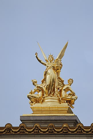 image 6-450-733 France, Paris, Paris Opera, designed by Charles Garnier