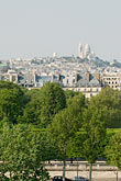 tree stock photography | France, Paris, Basilique du Sacre Coeur, image id 6-450-766