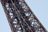 eiffel tower detail stock photography | France, Paris, Eiffel Tower , image id 6-450-804