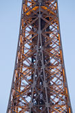 steel beam stock photography | France, Paris, Eiffel Tower , image id 6-450-812