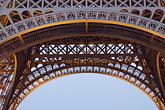 steel beam stock photography | France, Paris, Eiffel Tower , image id 6-450-823