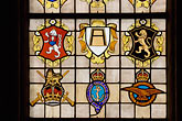 calvados stock photography | France, Normandy, Bayeux, Bayeux Cathedral, stained glass, image id 6-450-975