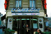 building stock photography | France, Paris, Le Week End Cafe, image id S1-35-14