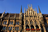 ornate stock photography | Germany, Munich, Neue Rathaus (New Town Hall) on Marienplatz, image id 3-920-2