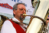 bavarian man stock photography | Germany, Munich, Oktoberfest, Band concert, image id 3-951-47