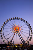 evening stock photography | Germany, Munich, Oktoberfest, Ferris wheel, image id 3-953-41