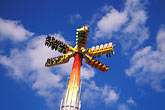 amusement stock photography | Germany, Munich, Oktoberfest, High Energy roundabout carnival ride, image id 3-953-63