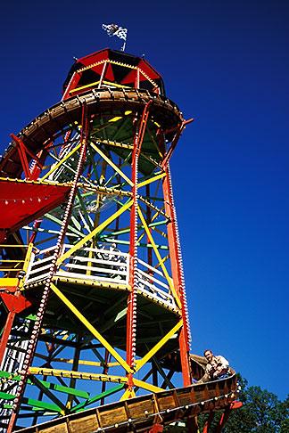 image 3-954-17 Germany, Munich, Oktoberfest, Toboggan carnival ride