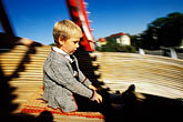 only boys stock photography | Germany, Munich, Oktoberfest, Toboggan carnival ride, image id 3-954-21