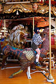 merry go round stock photography | Germany, Munich, Oktoberfest, Carousel, image id 3-954-22