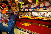 arcade stock photography | Germany, Munich, Oktoberfest, Ball toss gallery, image id 3-954-27