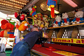 arcade stock photography | Germany, Munich, Oktoberfest, Ball toss gallery, image id 3-954-28