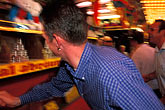 arcade stock photography | Germany, Munich, Oktoberfest, Ball toss gallery, image id 3-954-30