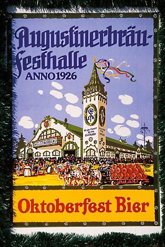 image 3-954-49 Germany, Munich, Oktoberfest, Oktoberfest poster