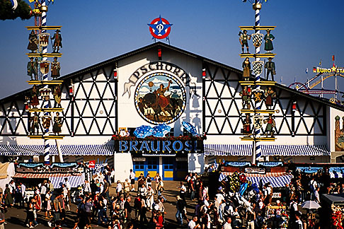 image 3-955-36 Germany, Munich, Oktoberfest, Pschorr beer hall