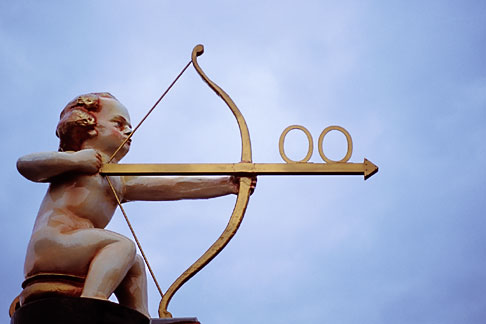 image 3-955-67 Art, Cupid with a bow and arrow