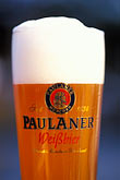 lager stock photography | Germany, Munich, Oktoberfest, Glass of beer, image id 3-956-37