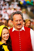 two young people stock photography | Germany, Munich, Oktoberfest, The M�nchner Kindl, young girl, image id 3-956-56