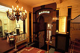 schwarzer bock stock photography | Germany, Wiesbaden, Entrance to baths, Schwarzer Bock spa, image id 5-267-20