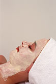 face stock photography | Germany, Wiesbaden, Beauty treatment, Nassauer Hof spa, image id 5-289-10