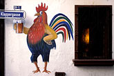 beer stock photography | Germany, Frankfurt, Mural, Old Sachsenhausen, image id 5-517-21