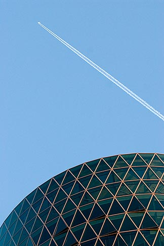 image 8-710-1395 German, Frankfurt, Westhafen office tower
