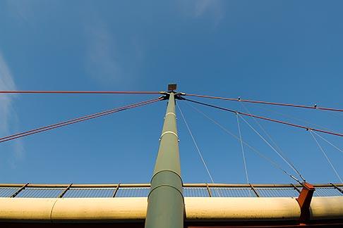 image 8-710-50 German, Frankfurt, Holbeinsteg Pedestrian Bridge