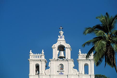 image 0-600-86 India, Goa, Panjim, Our Lady of Immaculate Conception