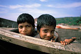 two people stock photography | India, Goa, Children, Arambol Beach, image id 0-602-56