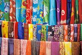 decorative fabric stock photography | India, Goa, Fabrics, Arambol, image id 0-603-11