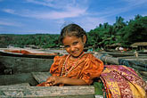 innocence stock photography | India, Goa, Young girl, Arambol, image id 0-603-17