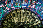 multicolour stock photography | India, Goa, Decorative Fan, image id 0-603-88