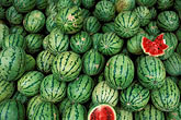 detail stock photography | India, Goa, Watermelons in market, image id 0-606-58