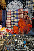 colorful indian fabrics stock photography | India, Goa, Anjuna flea market, image id 0-607-38