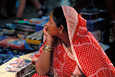 lady stock photography | India, Goa, Anjuna flea market, image id 0-607-81