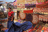 textile stock photography | India, Goa, Anjuna flea market, image id 0-607-87