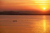 quiet stock photography | India, Goa, Sunrise over Mandovi River, image id 0-608-65