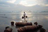 line stock photography | India, Goa, Fishermen
