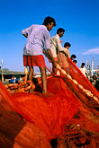 fishing nets stock photography | India, Goa, Fishermen, Betiim, image id 0-610-73